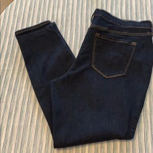 Dark wash jeans